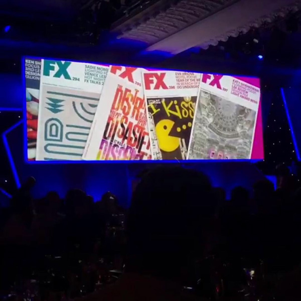 Crest at the FX Awards 2018