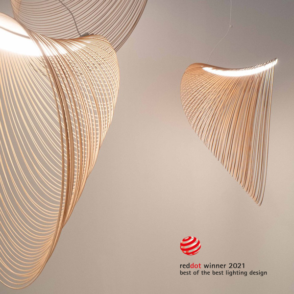 Illan lighting from Luceplan