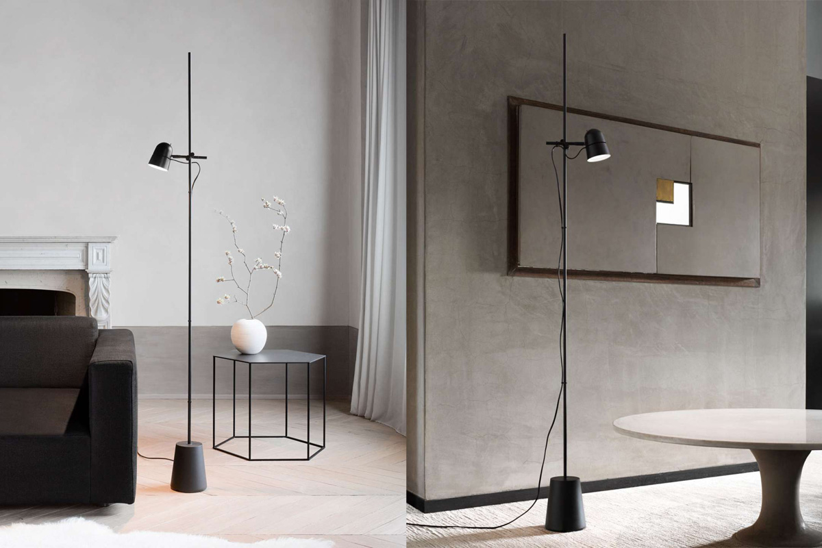 Counterbalance floor lamp from Luceplan