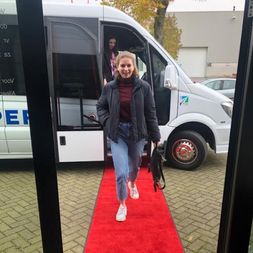 Walking the Artifort red carpet
