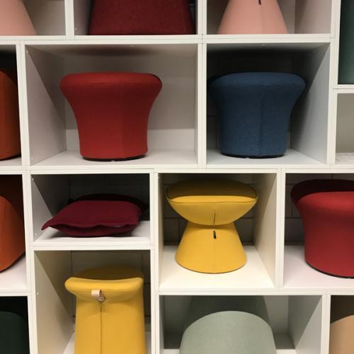 Artifort stool display